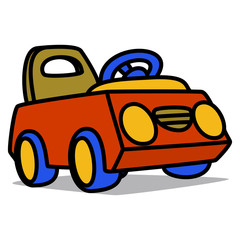 Cartoon Car 59 : Pedal Car