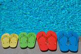 Fototapety Summer Flipflops