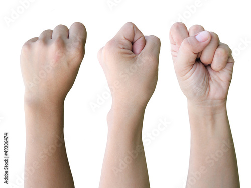 Collection hand fist