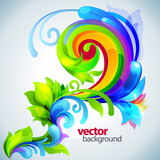 beautiful vector background
