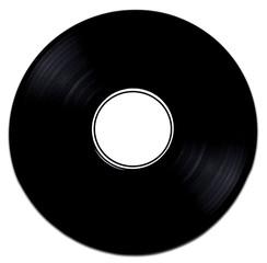 Schallplatte Weiß