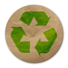 Eco paper sticker
