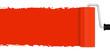 Neuanstrich mit Farbroller - rot