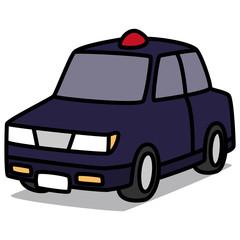 Cartoon Car 82 : Unmarked Car