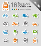Stickers - Transportation icons