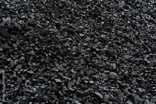 canvas print picture coal background