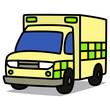Cartoon Car 84 : European Ambulance
