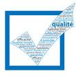 """Nuage de Tags """"QUALITE"""" (coche garantie service client qualité)"""