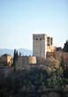 Torres Bermejas, Alhambra palace, Granada