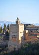 Alhambra palace, Granada, Torre de Comares