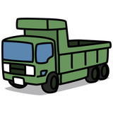 Cartoon Car 86 : Dump Truck