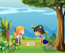Les enfants aventureux