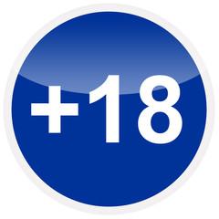+18 obligation sign