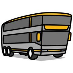 Cartoon Car 91 : Large Tourist Bus