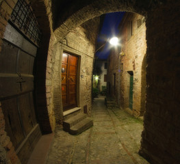 Ancient Architecture of Spello in Umbria
