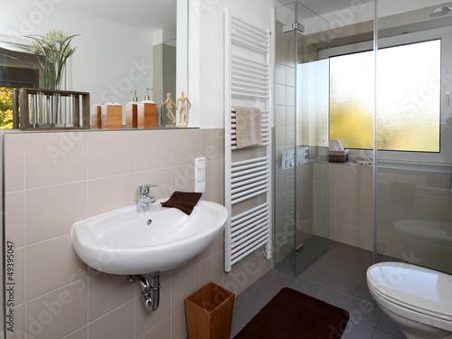 kleines badezimmer nach renovierung von j rg lantelme. Black Bedroom Furniture Sets. Home Design Ideas