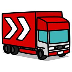 Cartoon Car 99 : Long-haul Truck