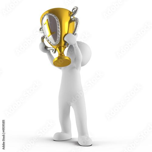 3D Pokal Platz 1