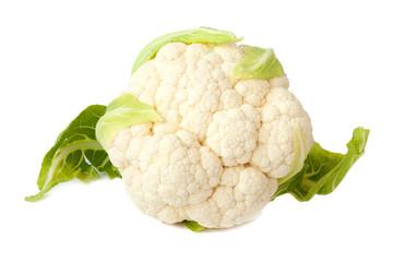 Cauliflower isolated on white background_II