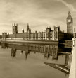 Hose of Parlament view from Westminster Bridge, London.