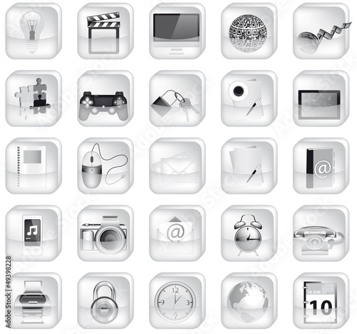 Iconset Black and White