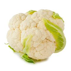 Cauliflower isolated on white background_IV