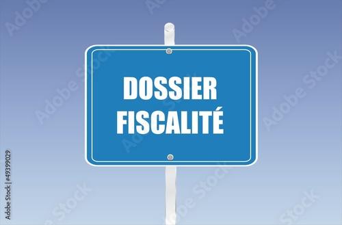 panneau dossier fiscales