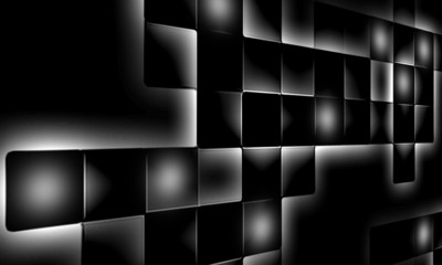 big mosaic abstract background