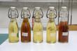 Diverse Bierproben