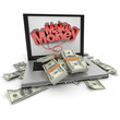 Make money online, dollars