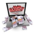Make money online, euros
