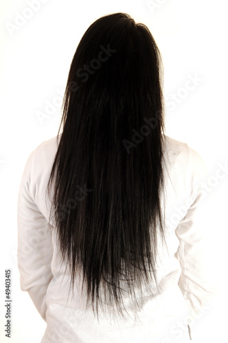 Lovely long hair.