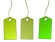 grüne Schilder Anhänger
