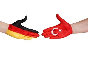 handshake between germany and turkey