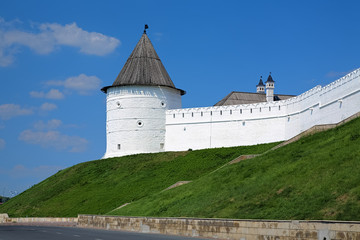 Nameless Round tower of the Kazan Kremlin, Russia