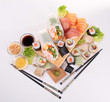 assortment of sushi