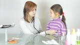 child to a medical examination