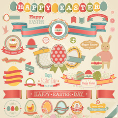 Easter scrapbook set - labels,