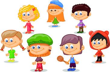 Набор из мультфильма милые дети