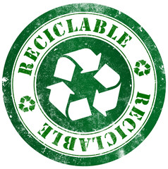 Recyclable stamp