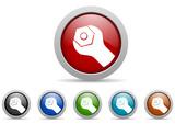 tools vector icon set