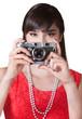 Lady Holding a Camera