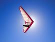 Drachenflieger im Sonnenlicht