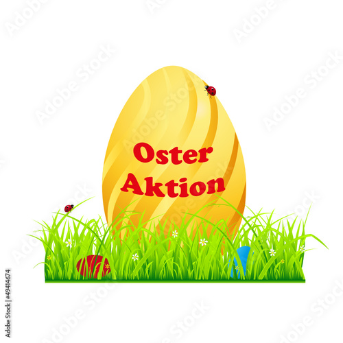 oster aktion web button, banner