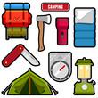 Camping graphics