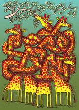 Girafes Maze Game