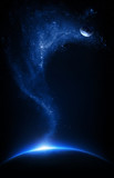 Fototapete Sterne - Starfield - 3D-Bilder