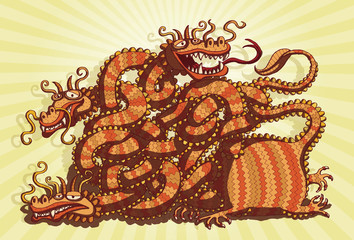 Chinese Dragon Maze Game