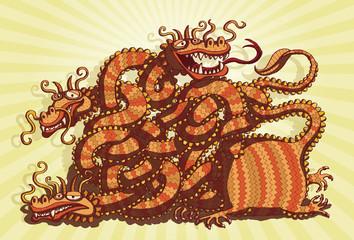 Chinese Dragon Maze Game
