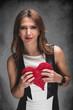 Valentinstag mit Herz